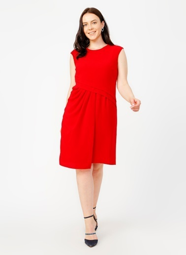 Selen Elbise Kırmızı